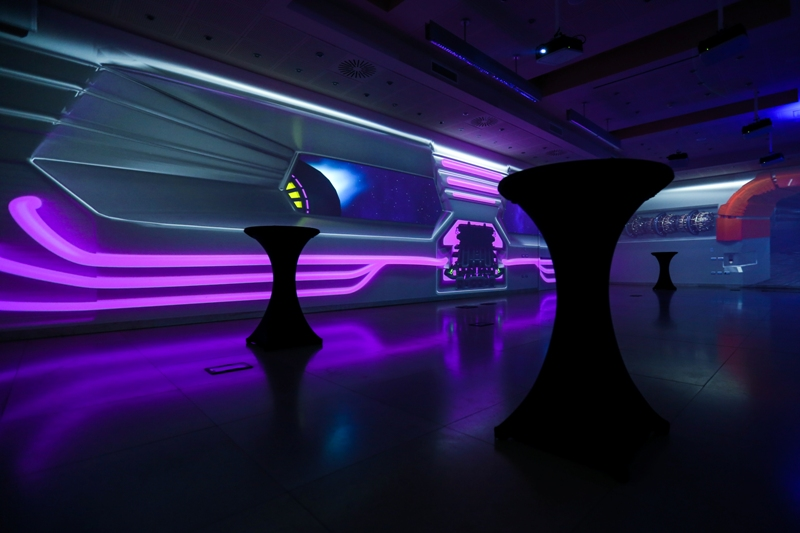 IMG_8498 A space event in Milan to inaugurate the only immersive Italian room